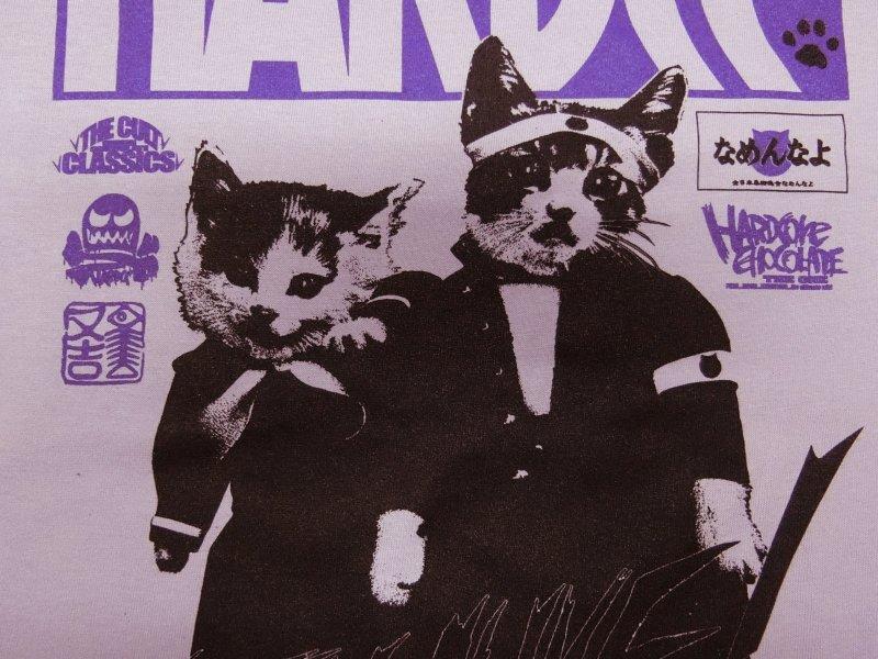 なめ猫-NAMENNAYO-(又吉とミケ子ライトパープル) / ハードコアチョコレート