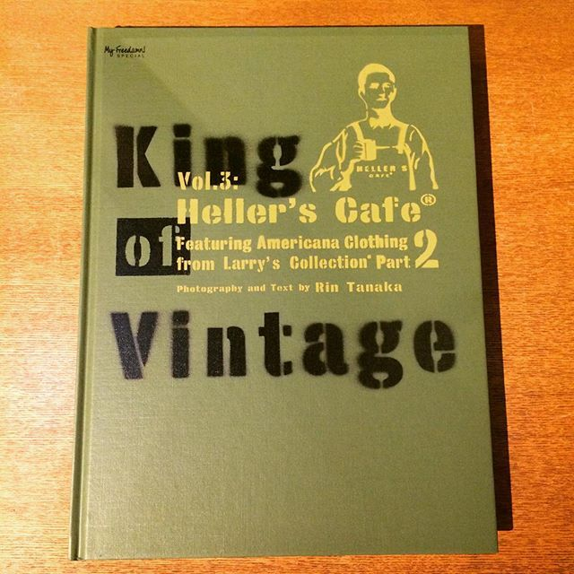 ファッションの本「King Of Vintage Vol.3 : Heller's Café Featuring Larry's Collections Part 2/田中凛太郎」 - 画像1