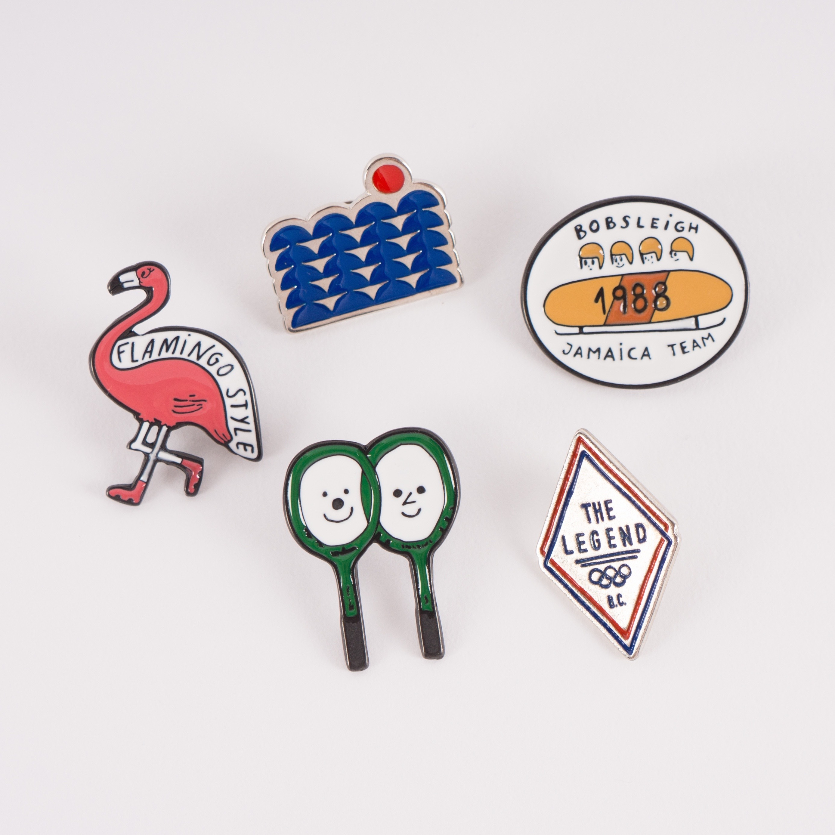 《BOBO CHOSES 2017SS》pack of 5 pins