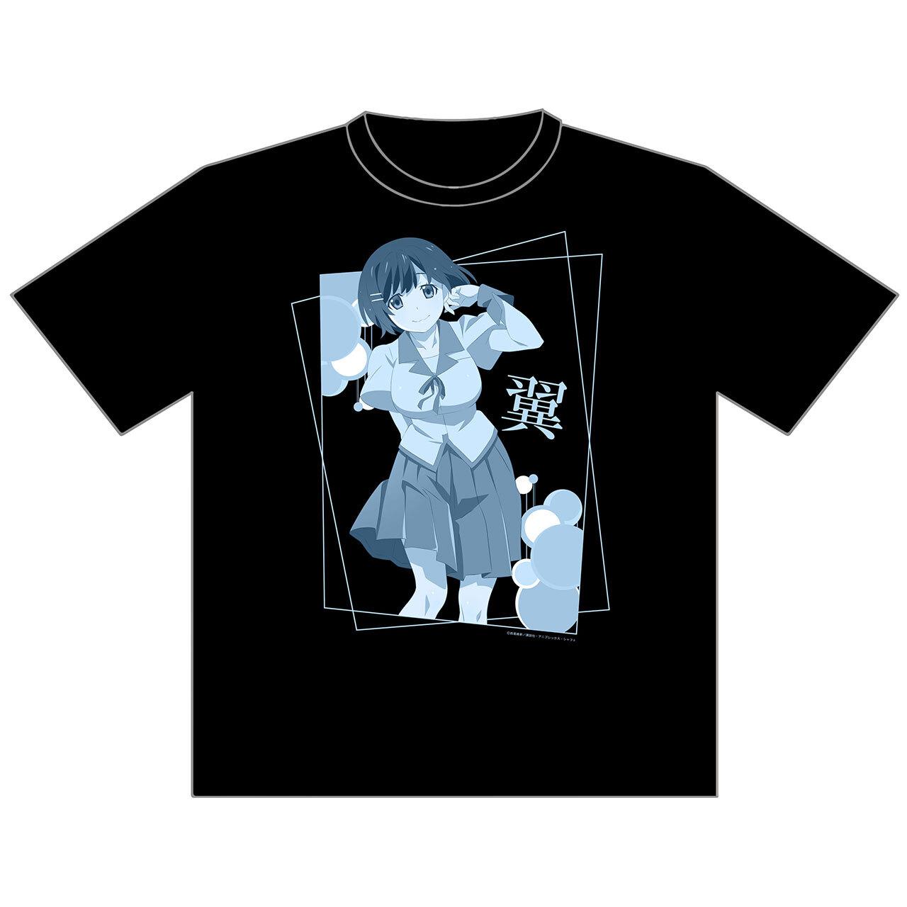 【4589839358064予】終物語 【描き下ろし】羽川翼 Tシャツ M