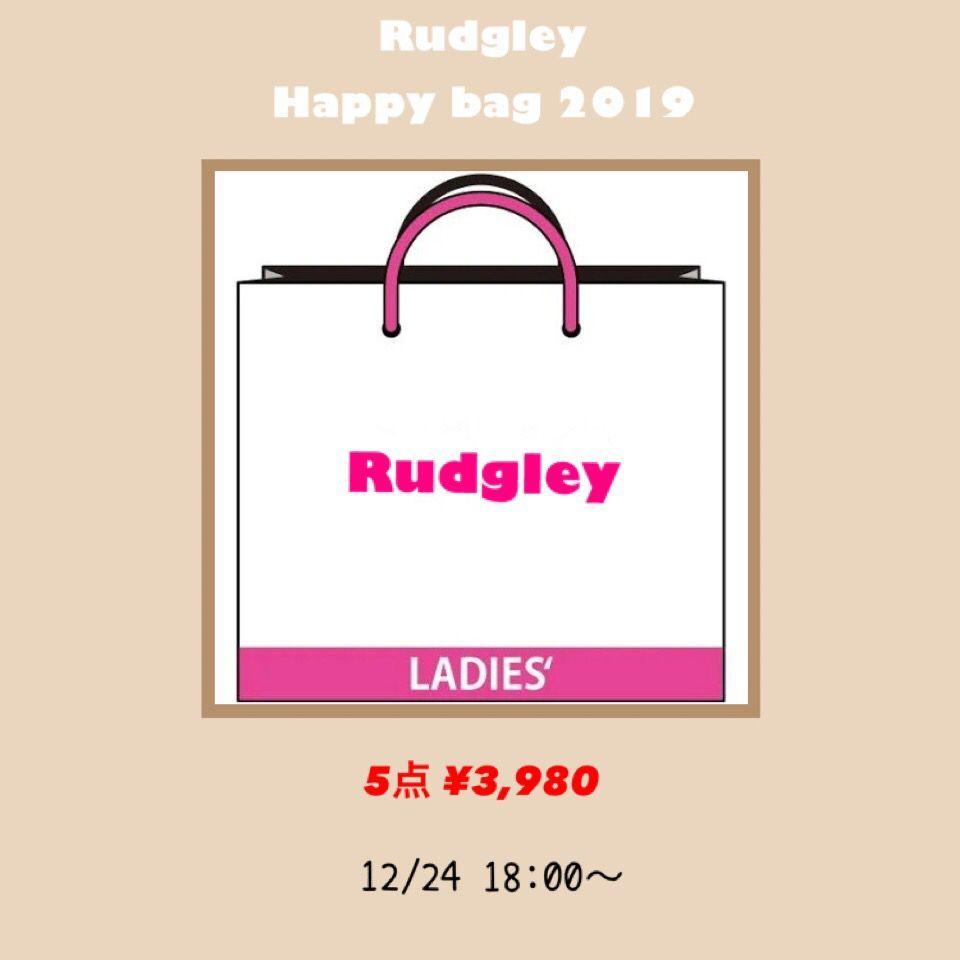 【即納 Happy bag 2019】Rudgleyのトレンドアイテム5点福袋♡