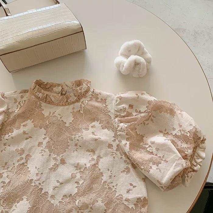 girly pattern blouse