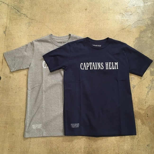 CAPTAINS HELM   LOGO TEE