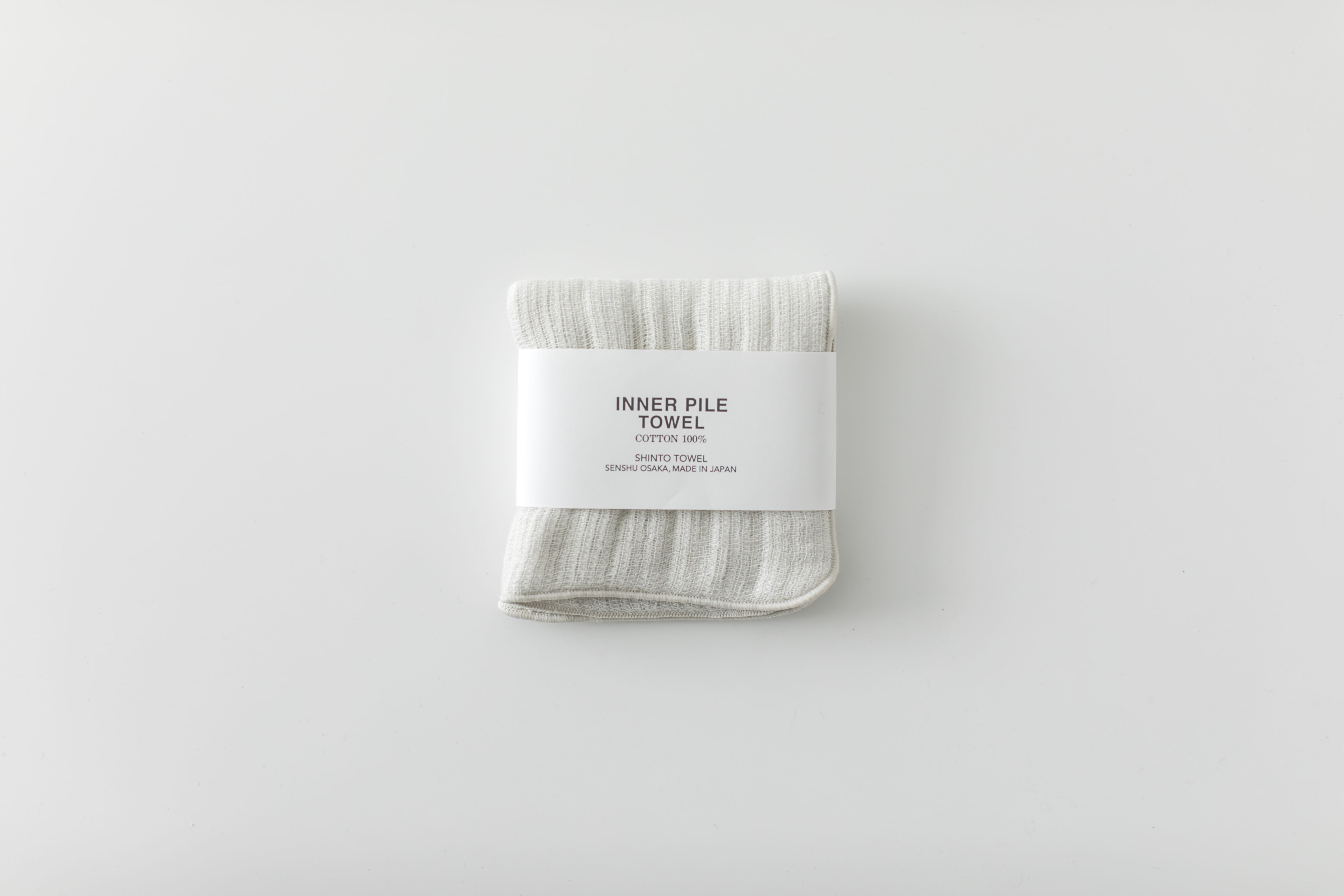 INNER PILE TOWEL : mini (Ivory) / SHINTO TOWEL