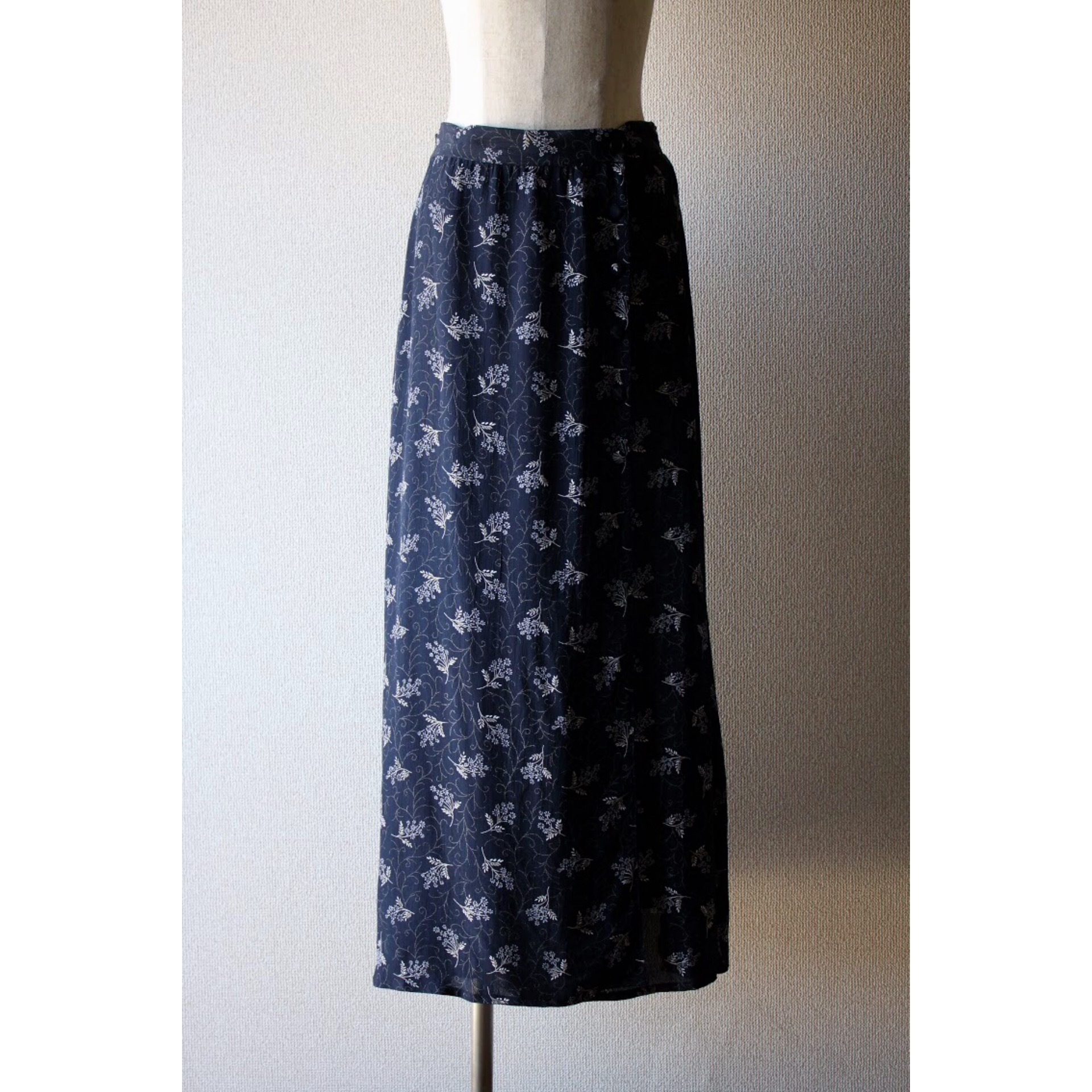 Vintage wrapped skirt