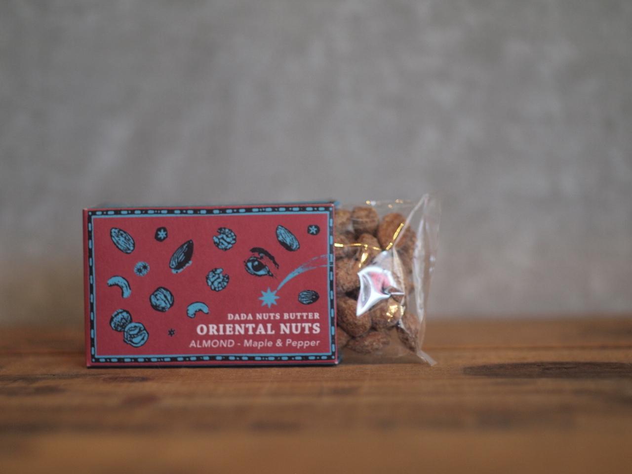 ORIENTAL NUTS [ALMOND - maple & peppar]