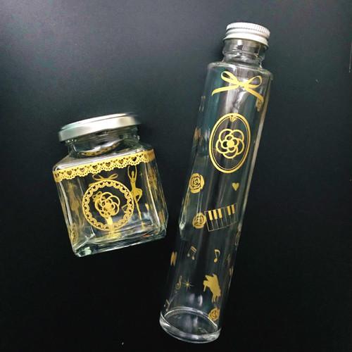【ガラス用】 バレリーナ メタリックゴールド  A4サイズ(ポーセリンアート用転写紙)
