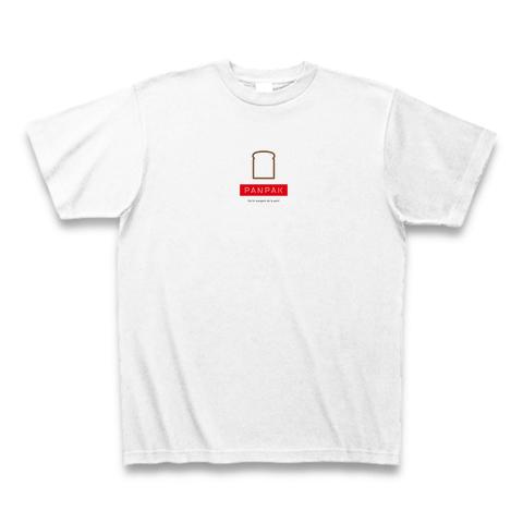 PANPAKオリジナル ロゴTシャツB(ホワイト)