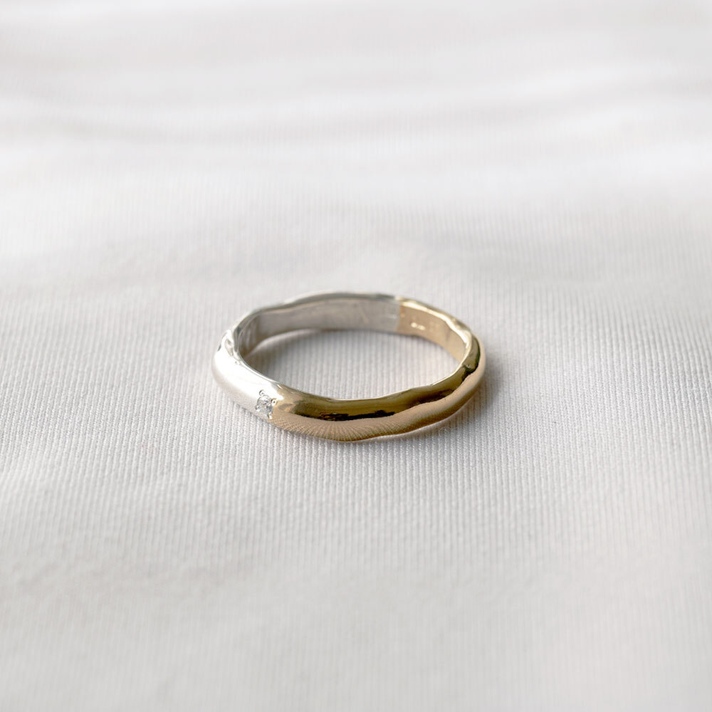 wave / middle ring (half)