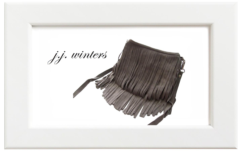 JJ winters/ジェイジェイ・ウィンターズ フリンジミニバッグ/グレースウェード