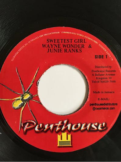 Wayne Wonder(ウェイン・ワンダー) & Junie Ranks(ジュニー・ランクス) - Sweetest Girl(スゥィーテストガール)【7'】