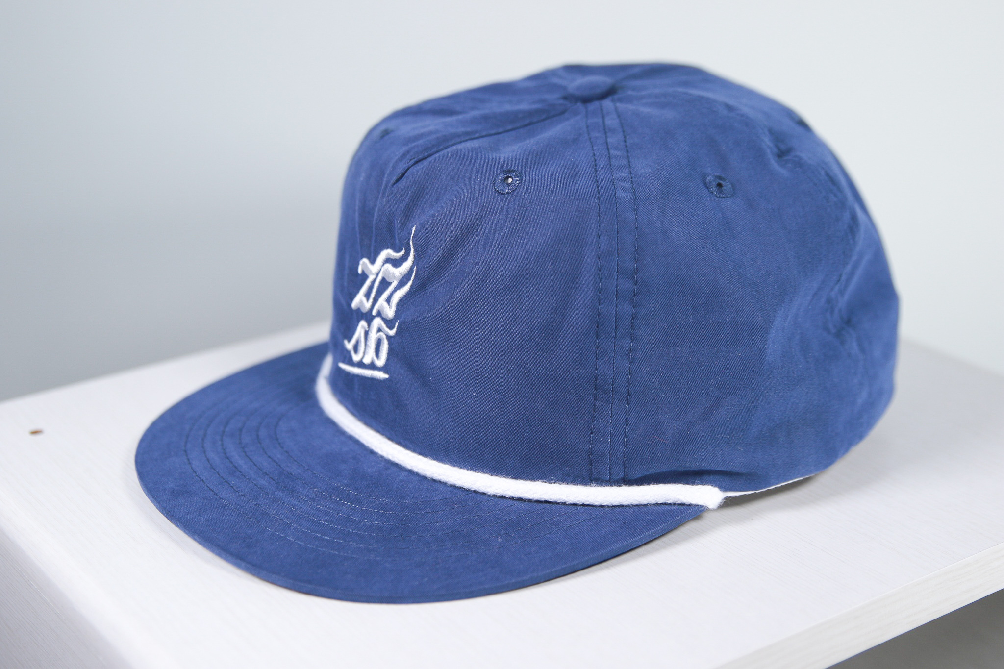 ZZSB CALI 5 PANEL NYLON CAP [BLUE]