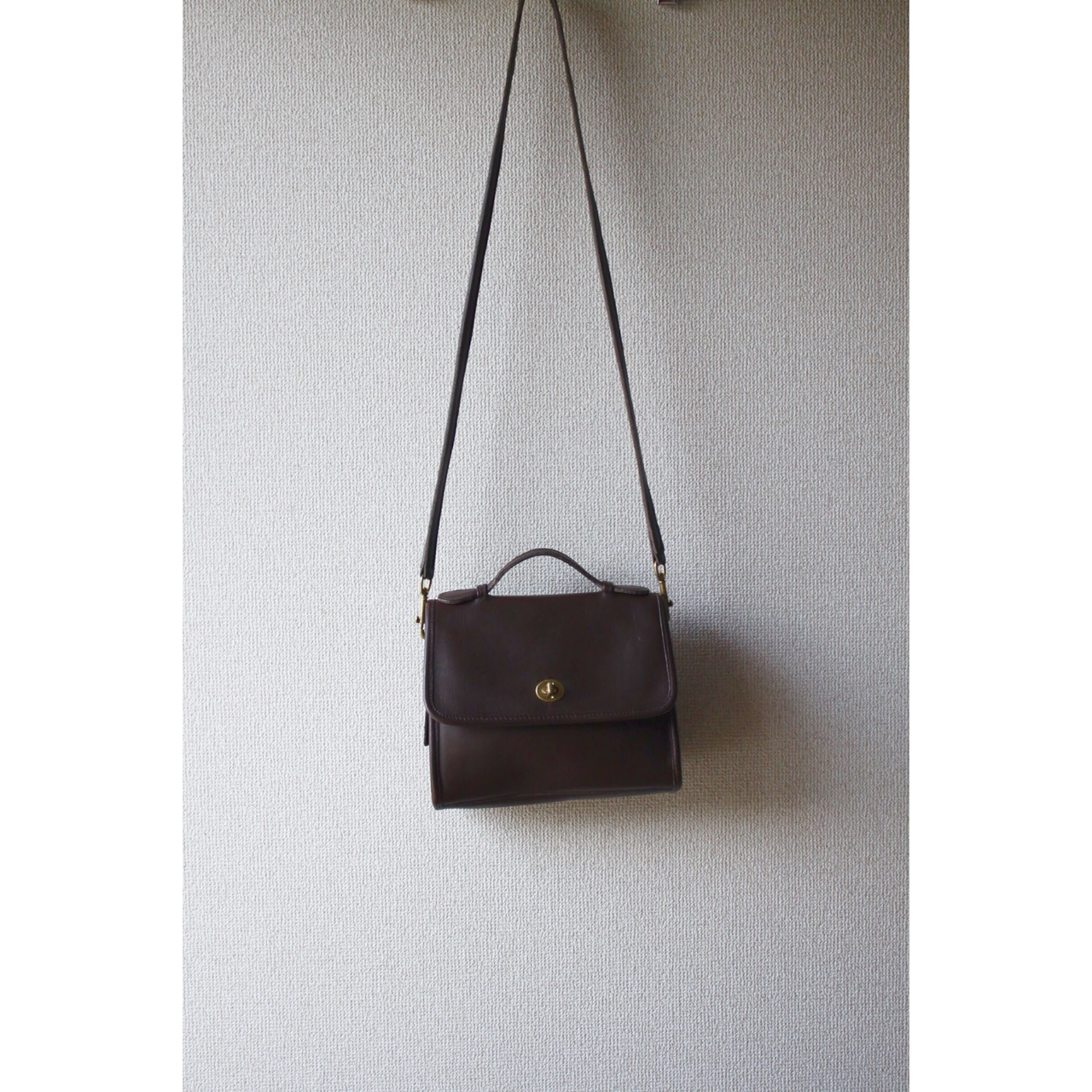 Old coach lether bag