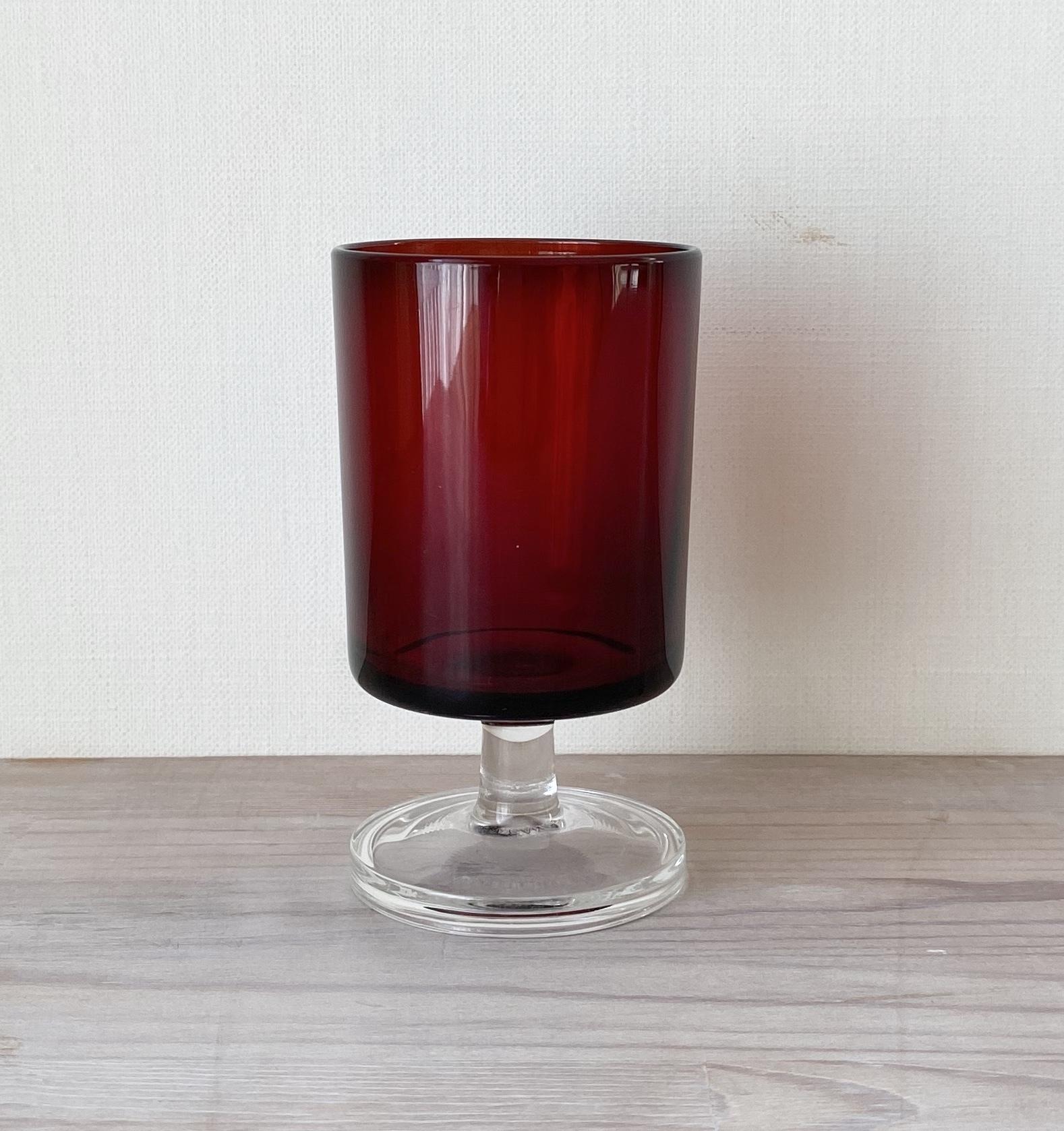 France ヴィンテージカラーグラス・ワイン / uv0030