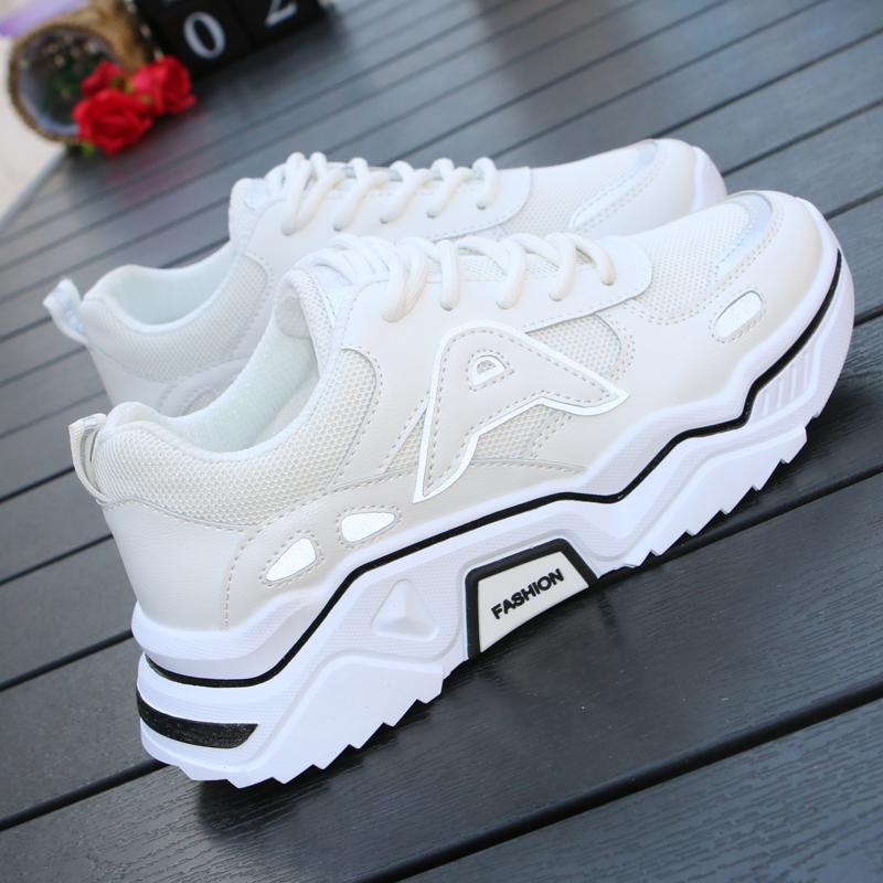 【shoes】シンプル切り替え配色スニーカー22552457