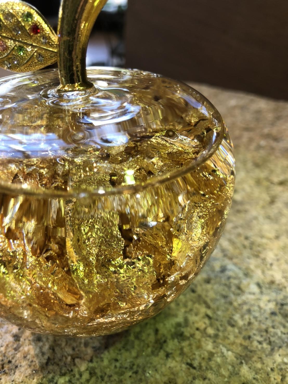 【金のりんご】ゴールドアップル - Gold Apple【金運UP・長寿祈願】