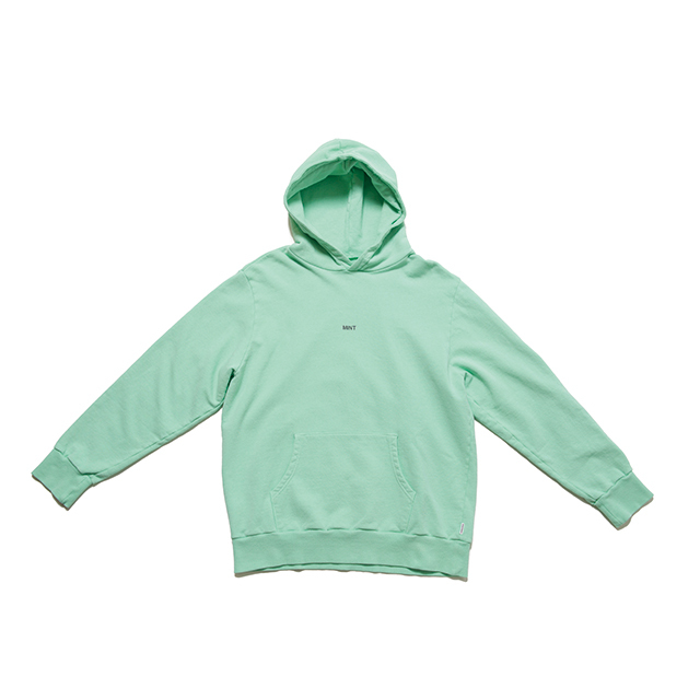 "SPICE COLOR HOODIE ""MINT"" - GREEN"