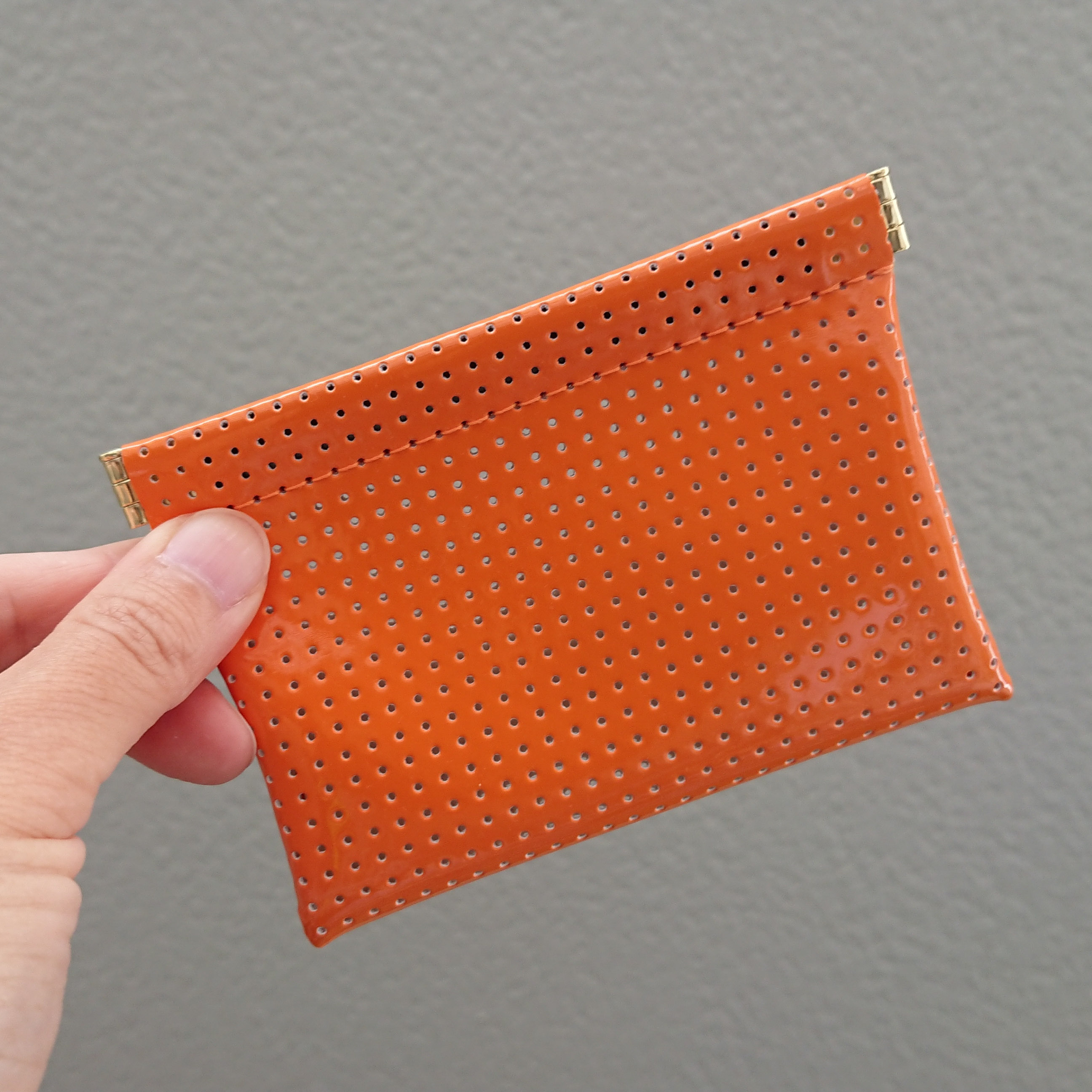 OSORO カードケース ☆ みかん コインケース 財布 ポーチ イヤホンケース ピルケース