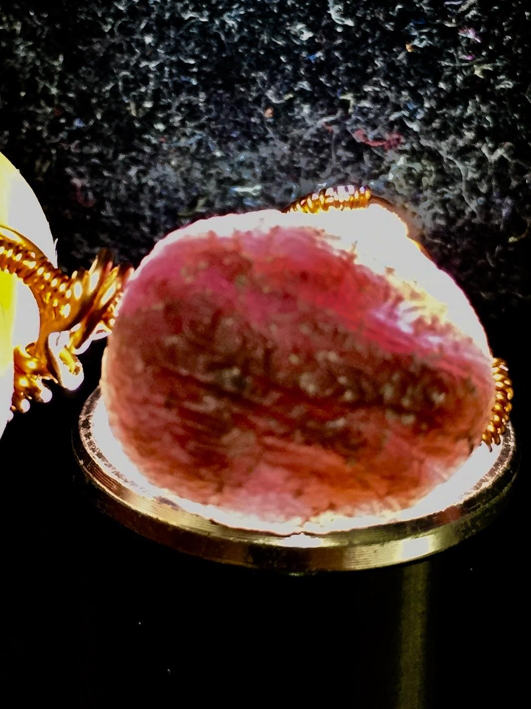 1) 紫ゴビアゲート 「卑弥呼」ワイヤーPT