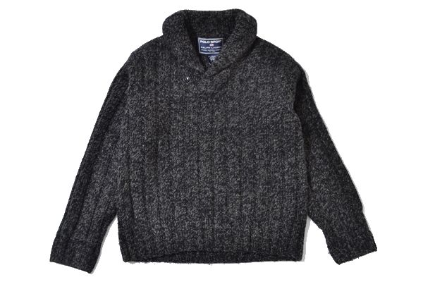 POLO SPORTS sizeM LAMBSWOOL sweater