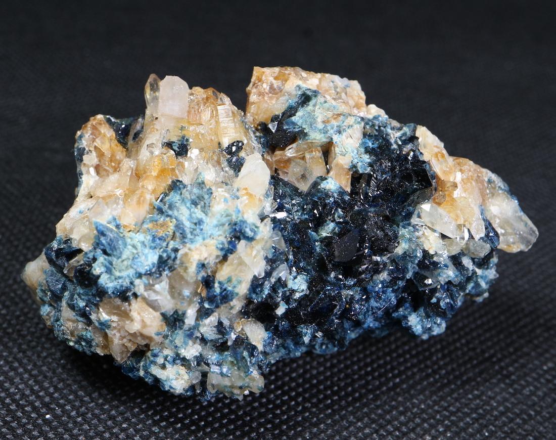 ラズライト + クォーツ 天藍石 Lazulite カナダ産 100,3g LZL008  鉱物 天然石 パワーストーン 原石