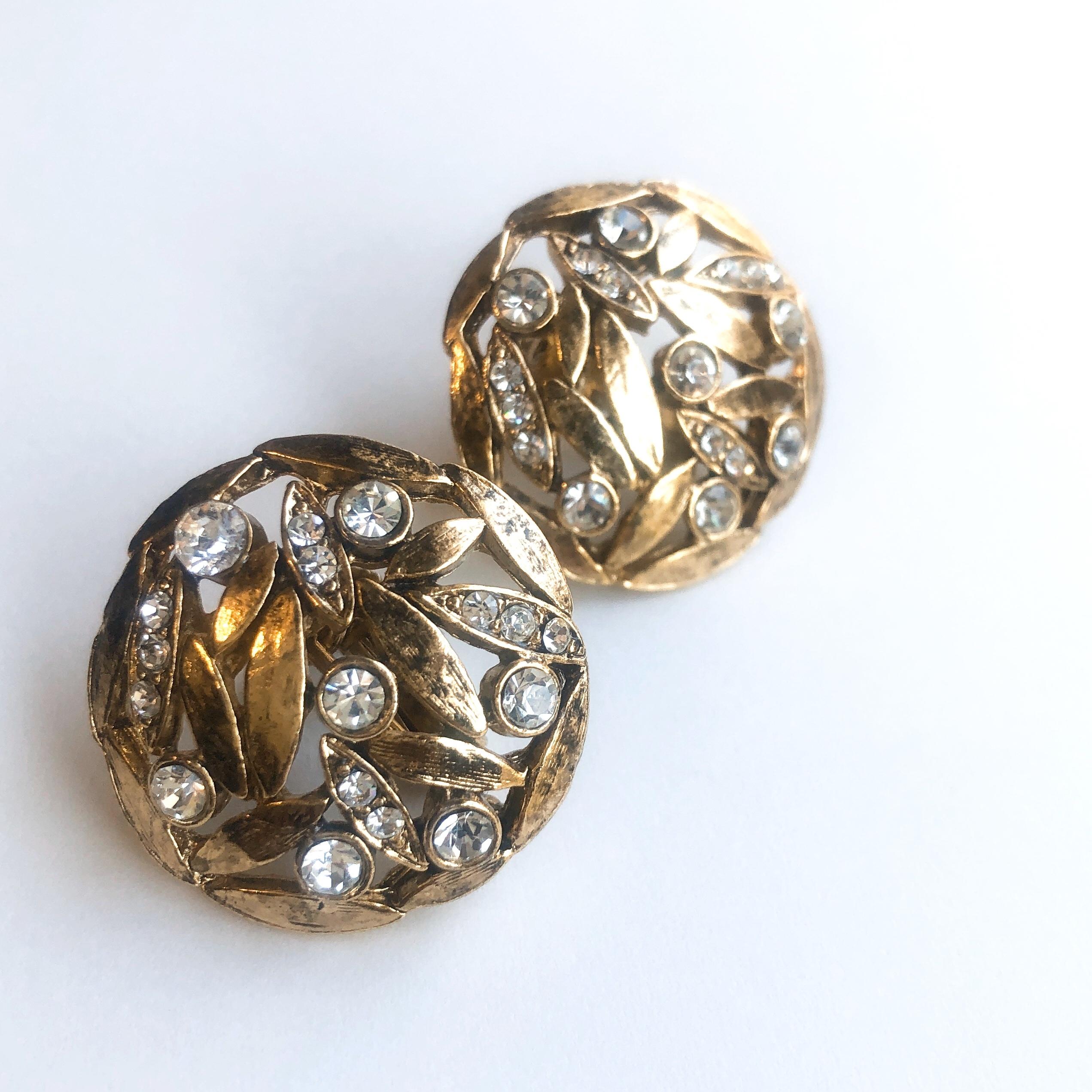 Vintage earrings X-013