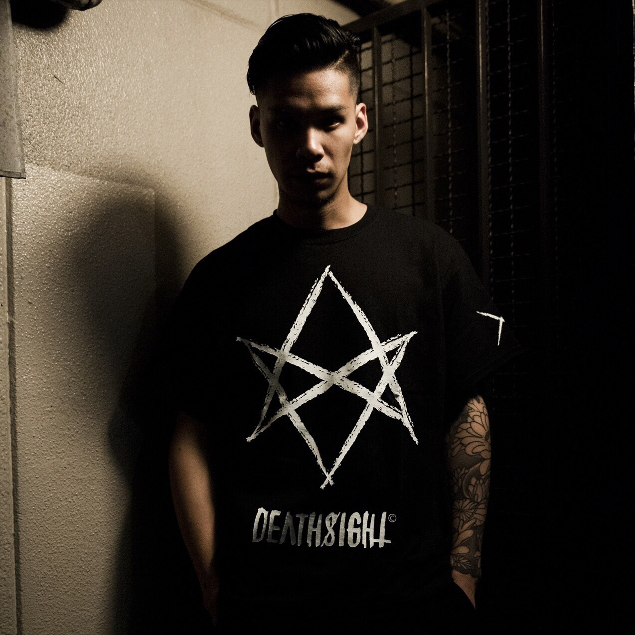 """Hexagram"" Tees / BLACK - 画像3"