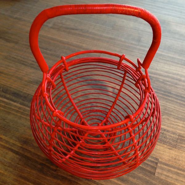 French Vintage Egg Basket