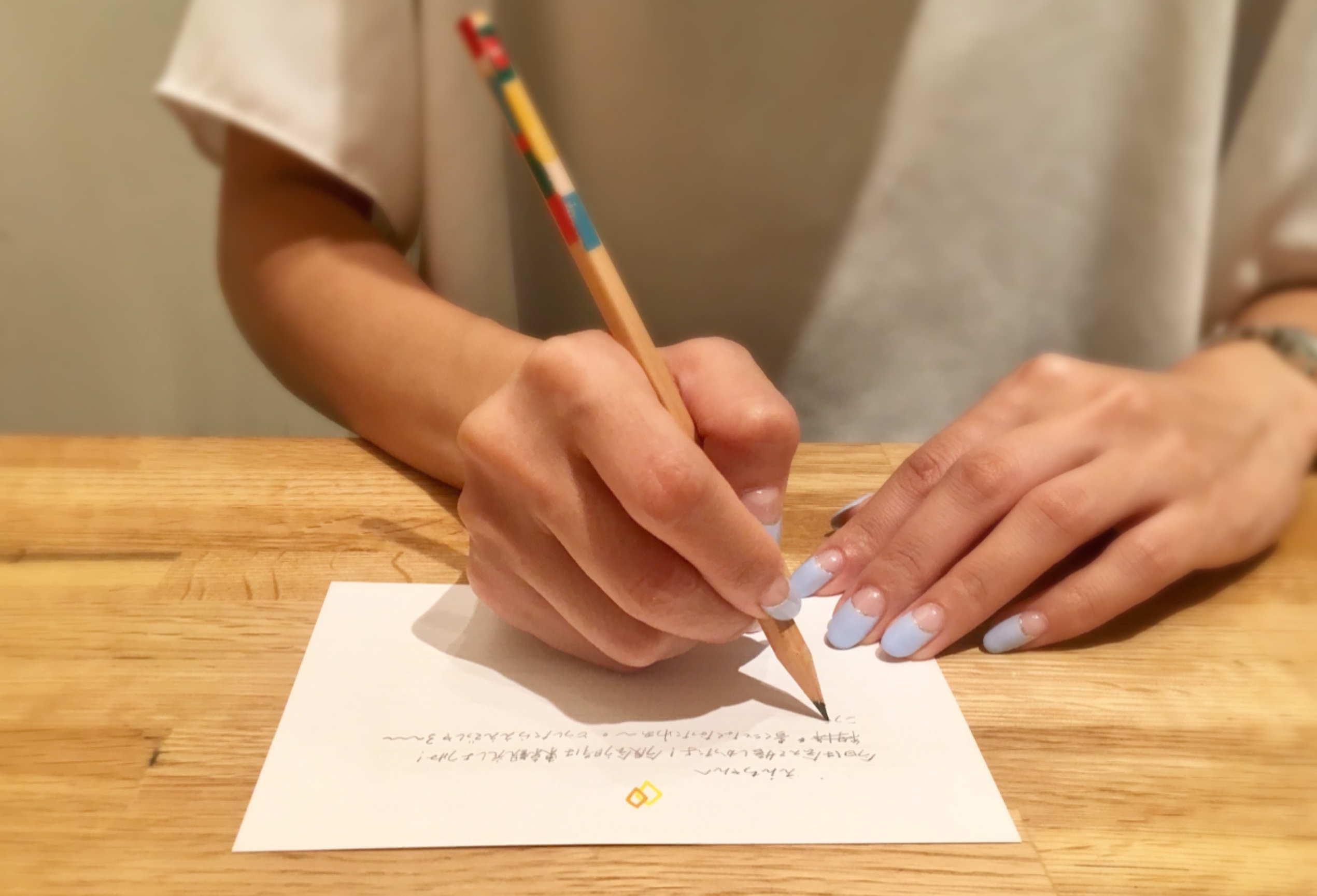 誕生日/受験/卒業/就職/留学/小さなともしび/TOMOSHIBI LETTER