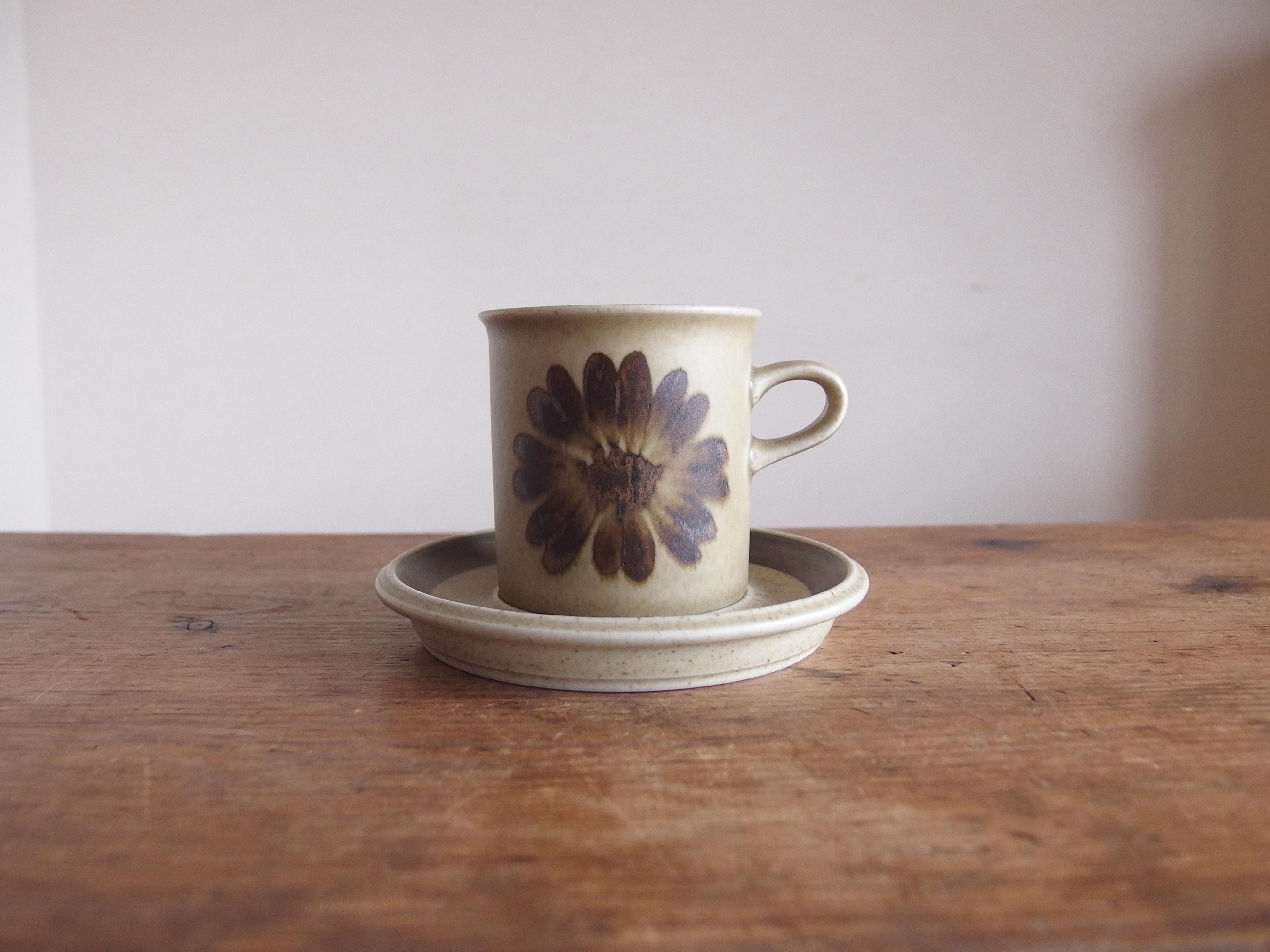 SOLD OUT ARABIA Tunturi コーヒーカップ&ソーサー