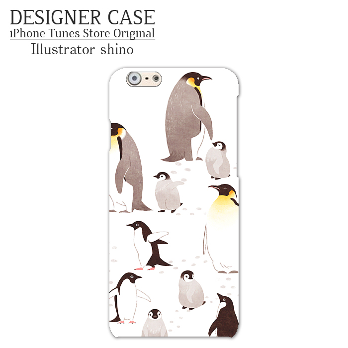 iPhone6 Plus Hard Case[penguin] Illustrator:shino