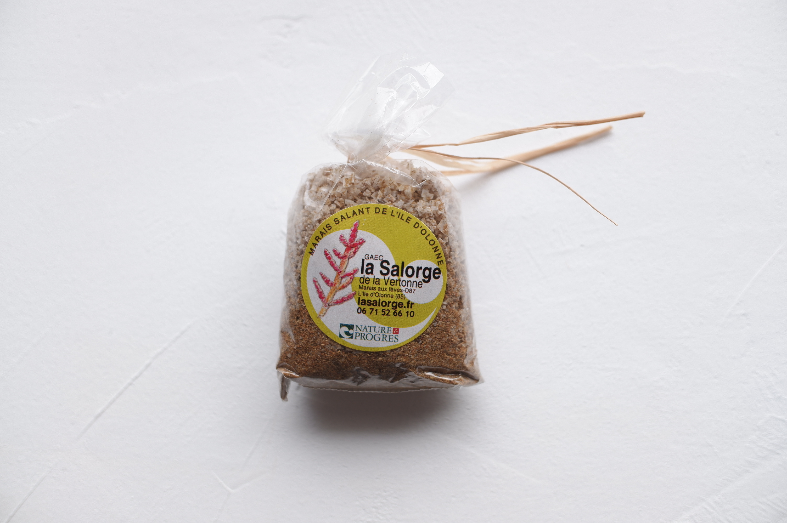 La Salorge de la Vertonne スパイス入り海塩( 粗塩 ) カレー 60g