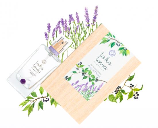 tokotowa organics ピュリティ&ドリームズ (バイオレット) 香水 25ml【perfume】