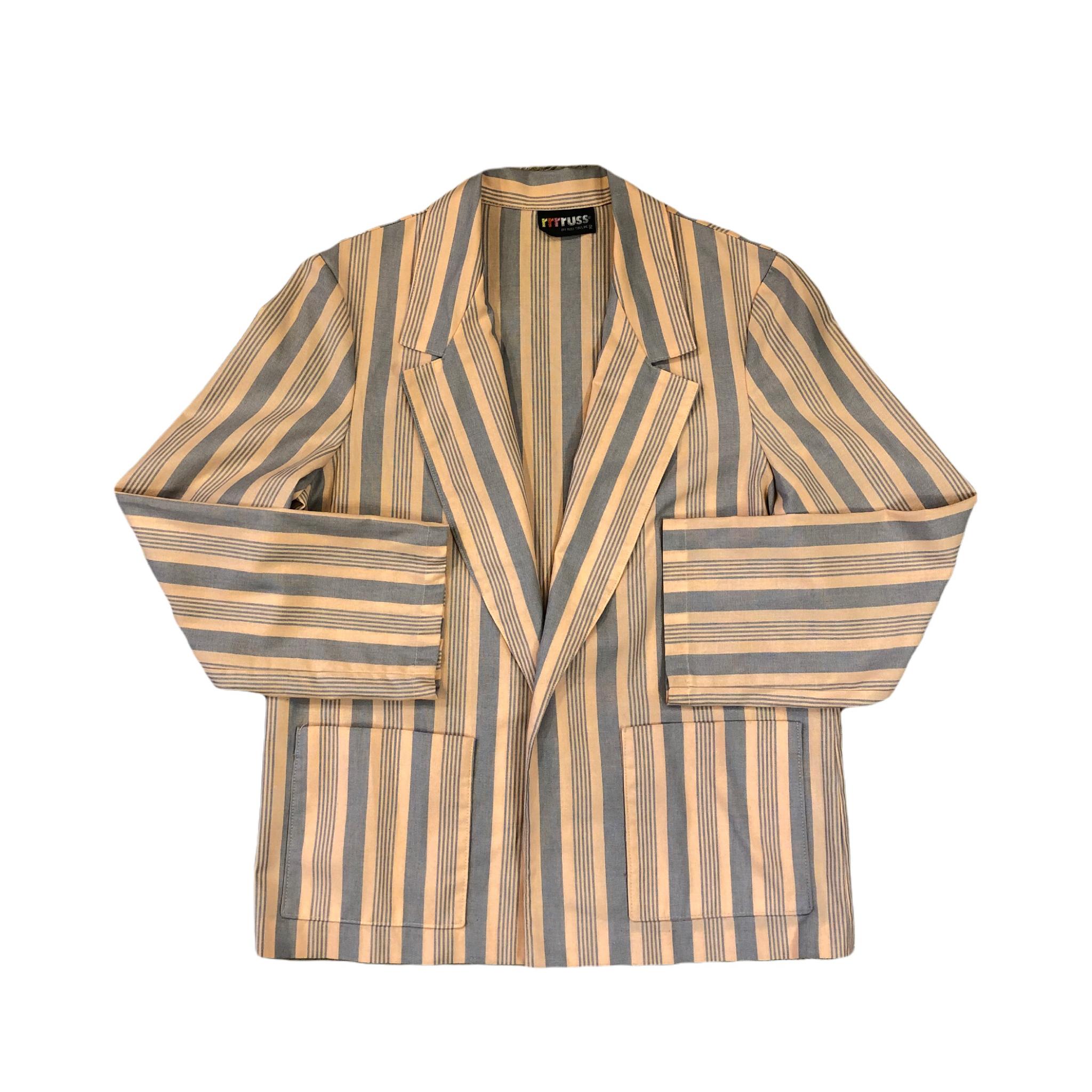 Rrrruss Stripe Jacket ¥7,200+tax