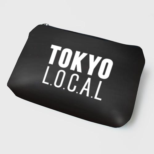 「ベーシックロゴ」TOKYO L.O.C.A.L ブラックポーチ