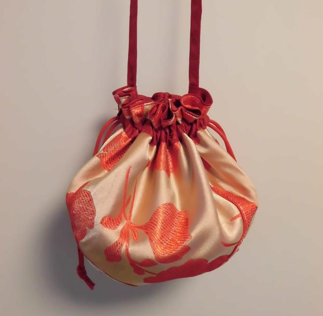 manokoko キンチャクショルダーバッグ 【chinoiserie】 ハンドメイド