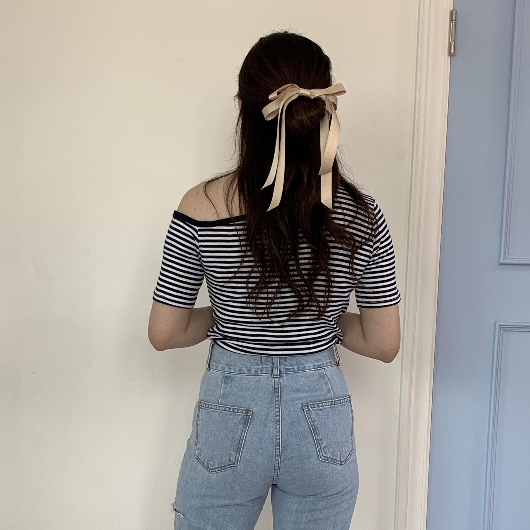 one shoulder T