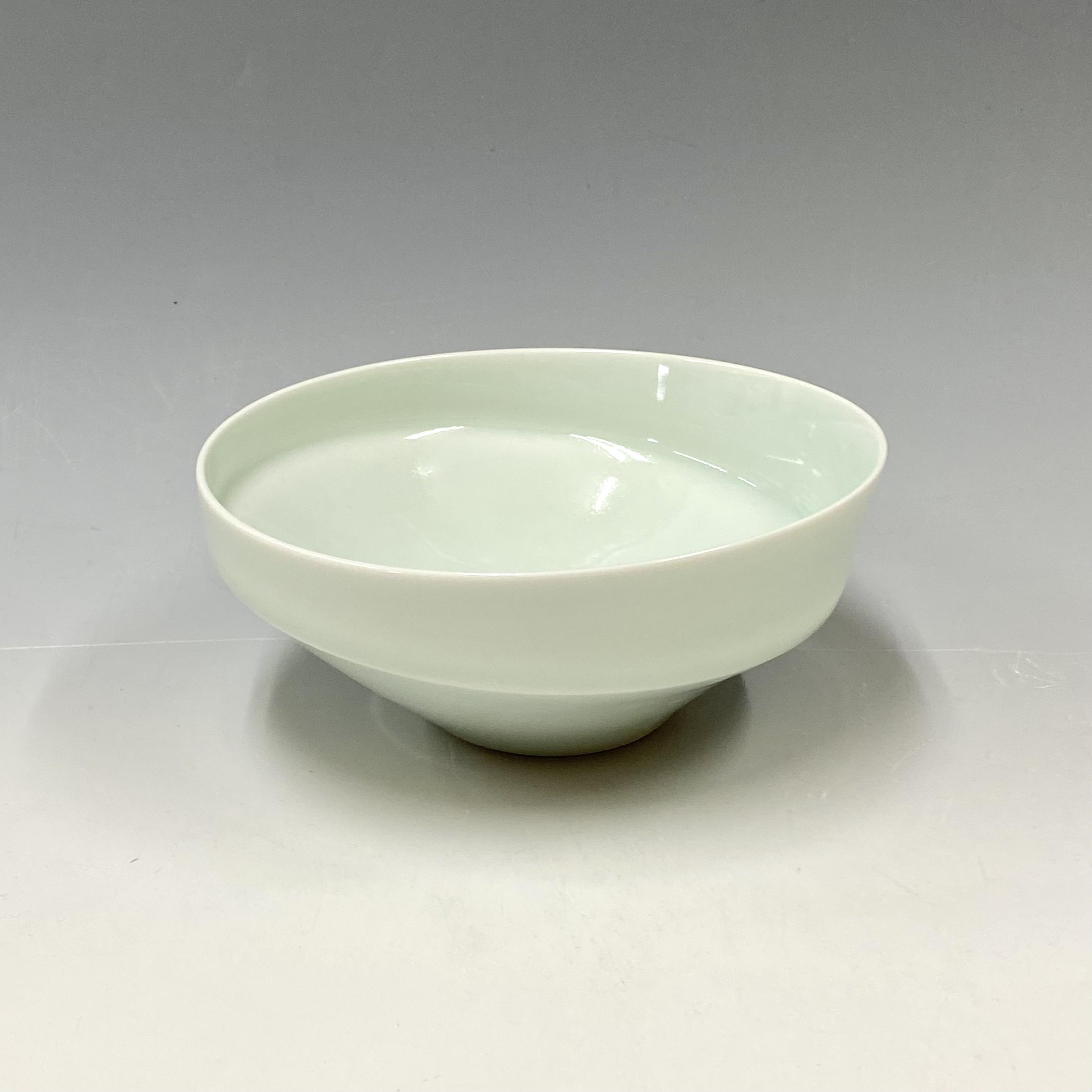 【中尾純】青白磁鉢(小•深)