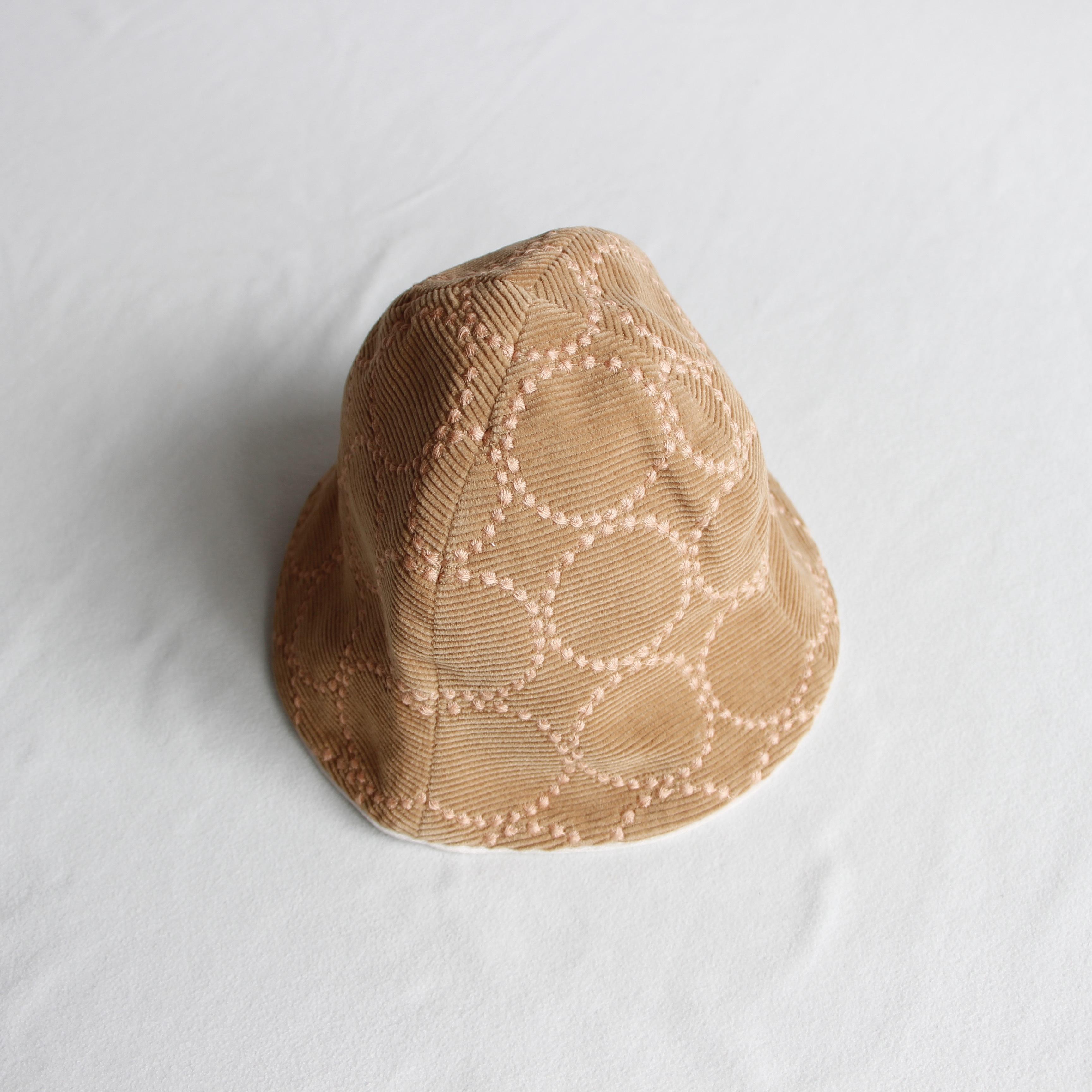 《mina perhonen 2020AW》tambourine 帽子 / light brown