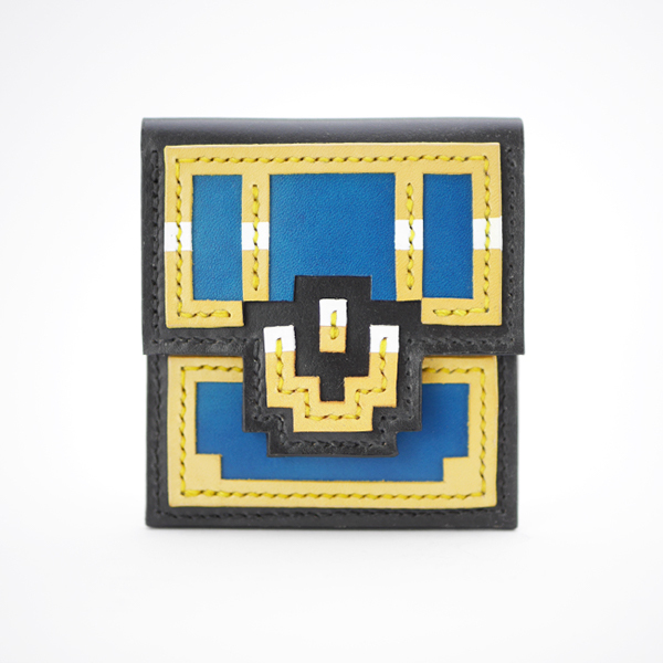 COINPURSE - treasure chest - BLUE