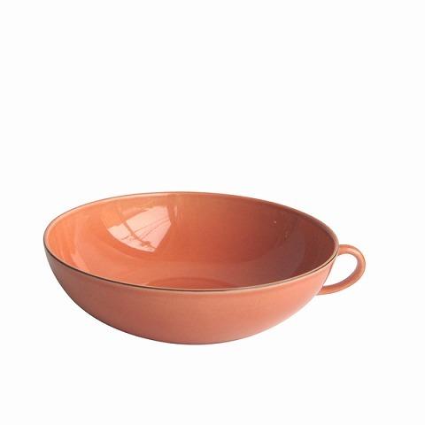 GUSTAVSBERG グスタフスベリ テーブルウェア Natur ハンドル付きボウル 17 cm オレンジ