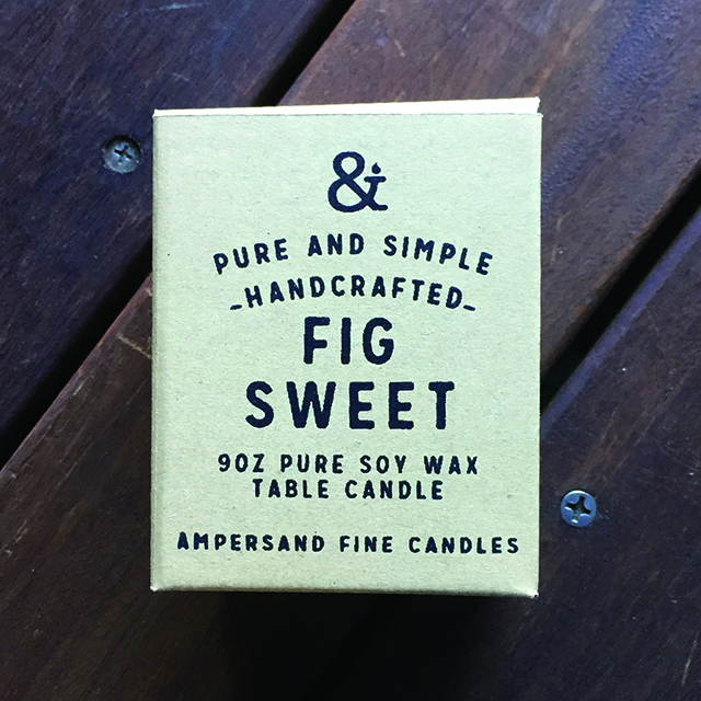 9oz Amber Jar Candle -FIG SWEET- キャンドル Candles - 画像1