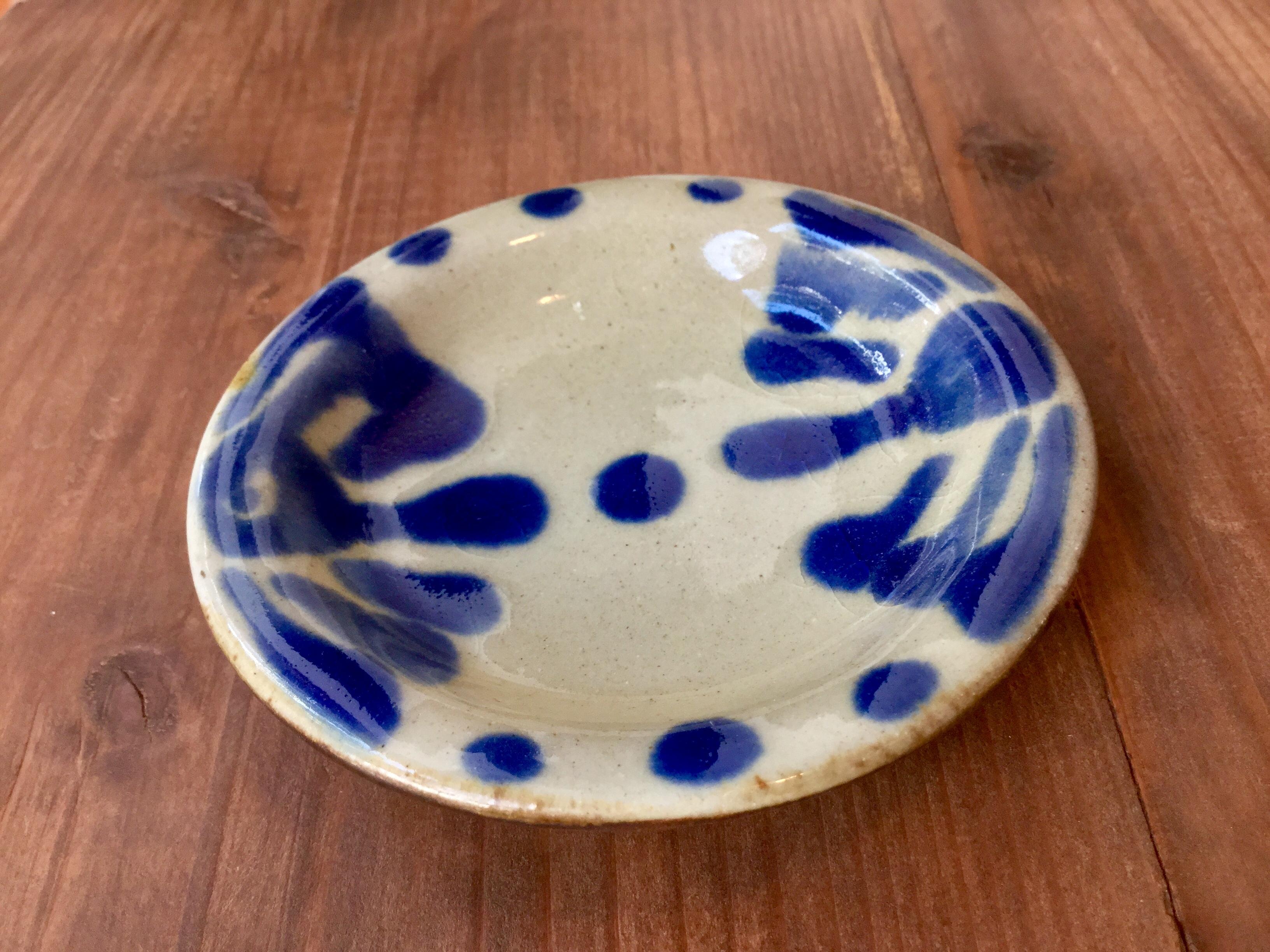 小皿 コバルトノモ陶器製作所