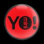 ゴーバッジ(ドーム)(CD0537 - YO MINI RED) - 画像1