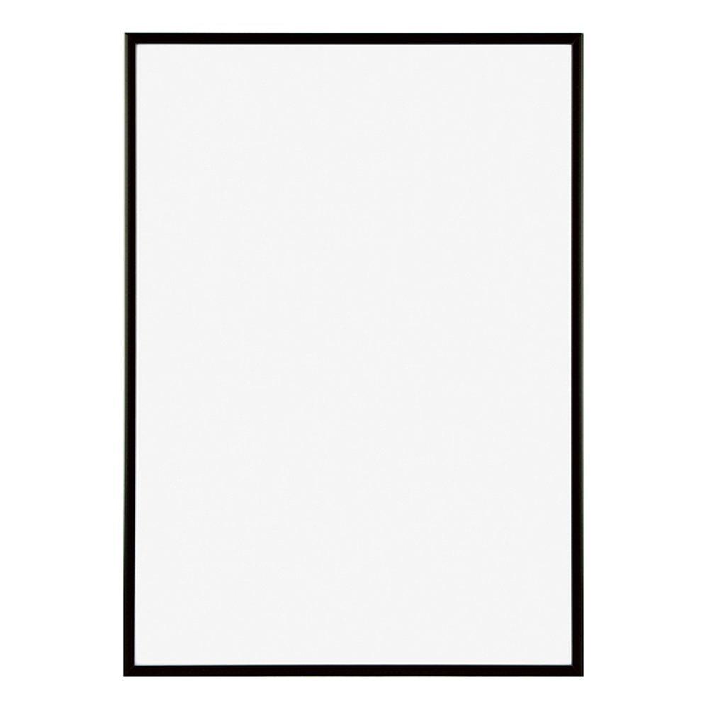 ポスターフレーム フィットフレーム 100x70 cm ブラック