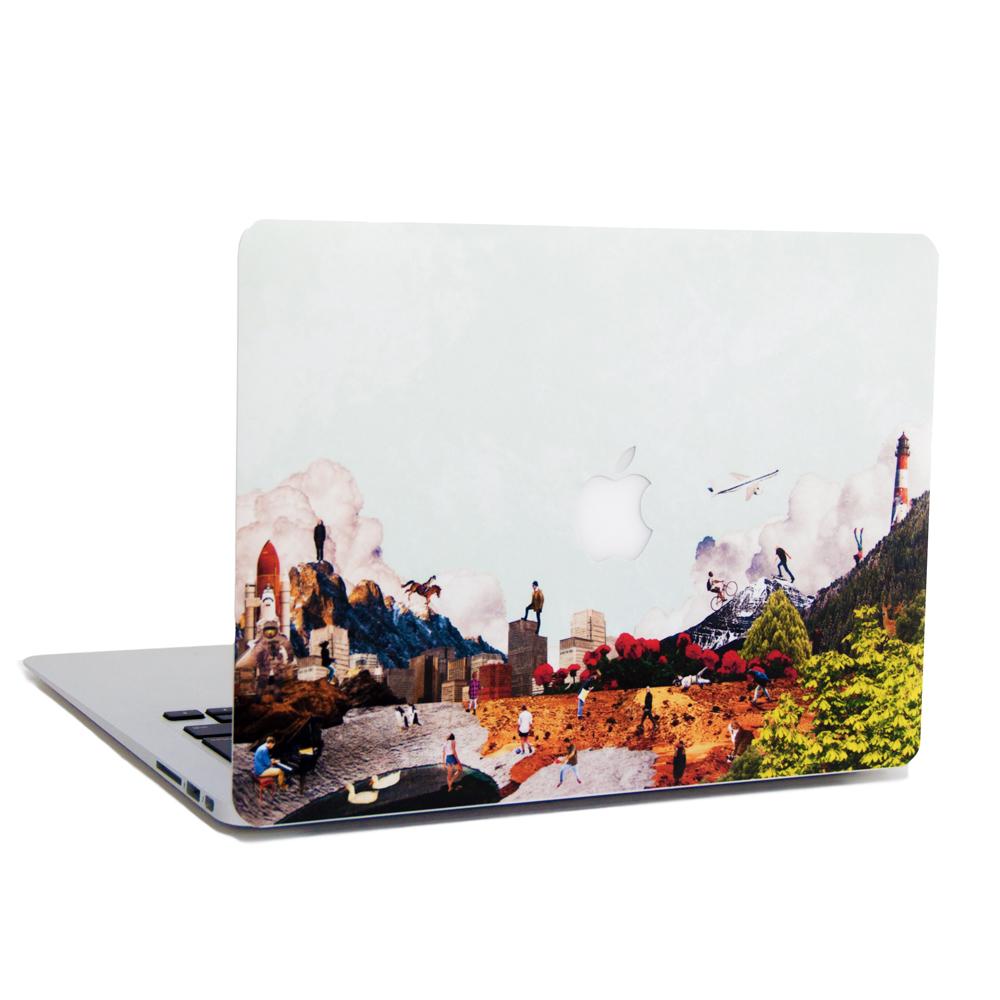 diorama MacBookステッカー