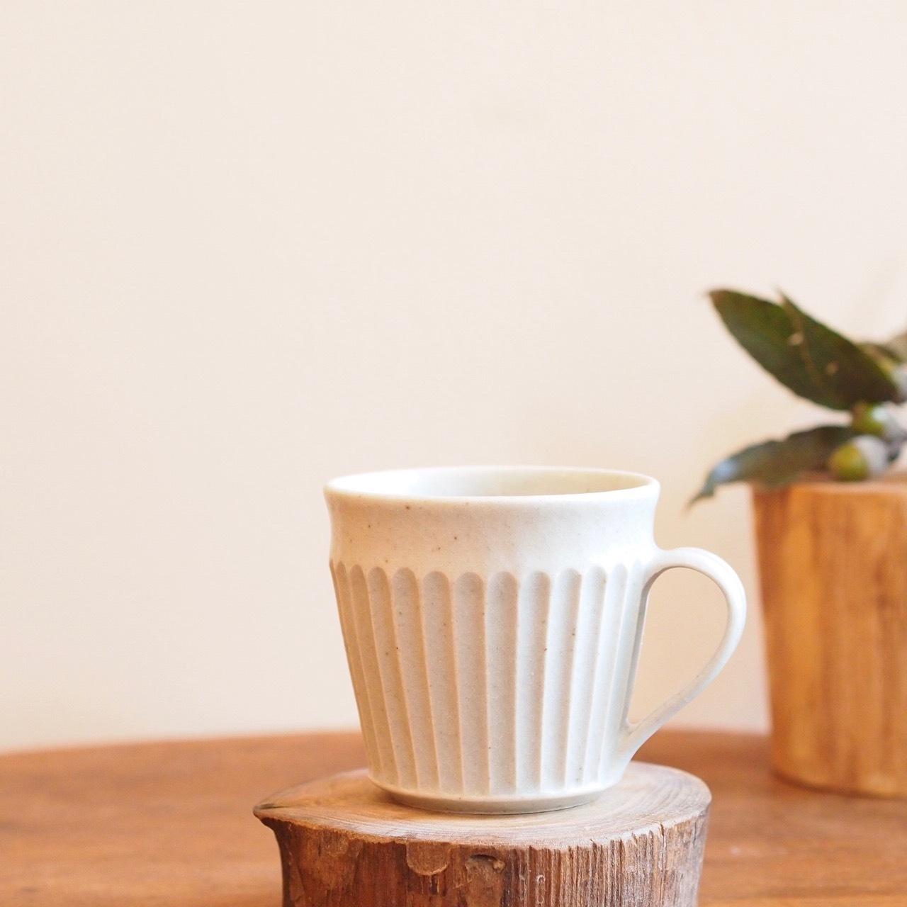 【若菜綾子】太縞マグカップ