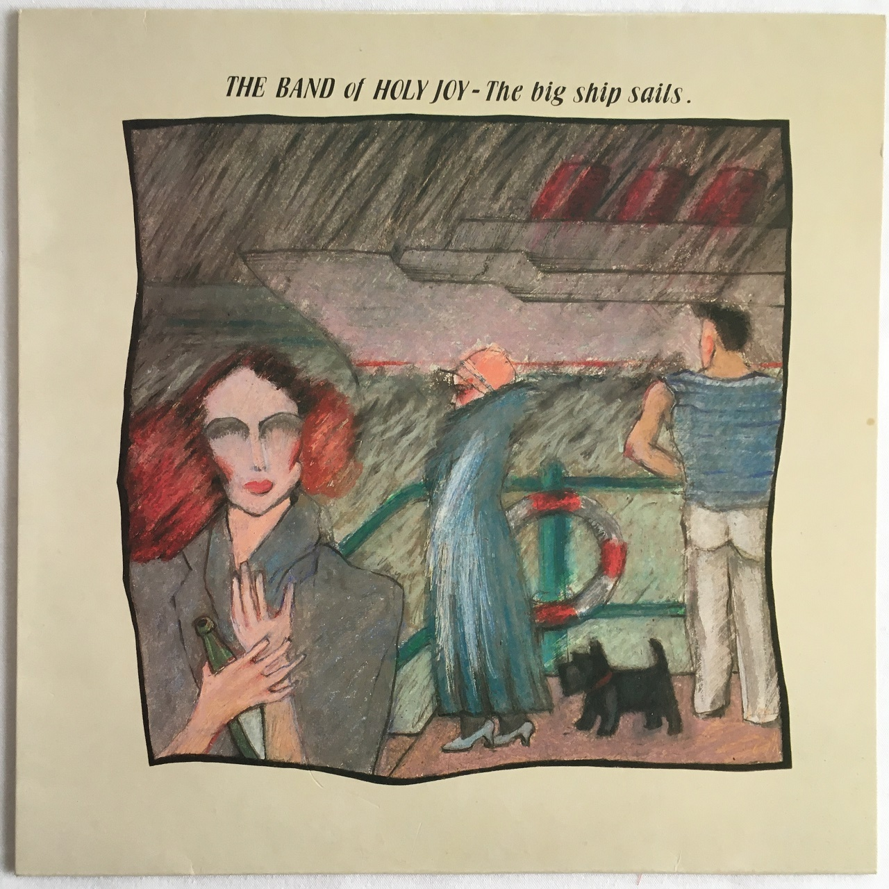 【10inch・英盤】The Band Of Holy Joy  /  The Big Ship Sails