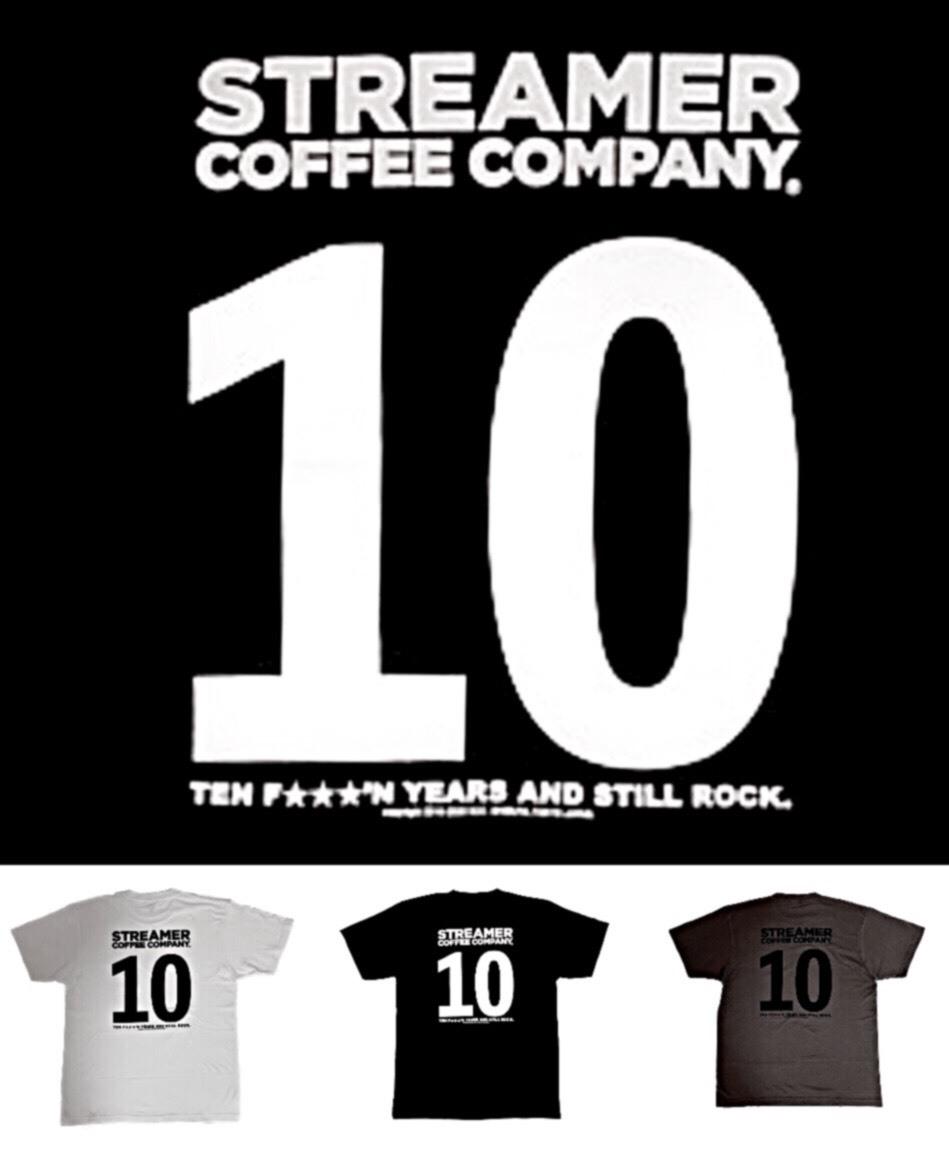 ストリーマー 10周年 Tシャツ 10TH SPECIAL LIMITED ITEM