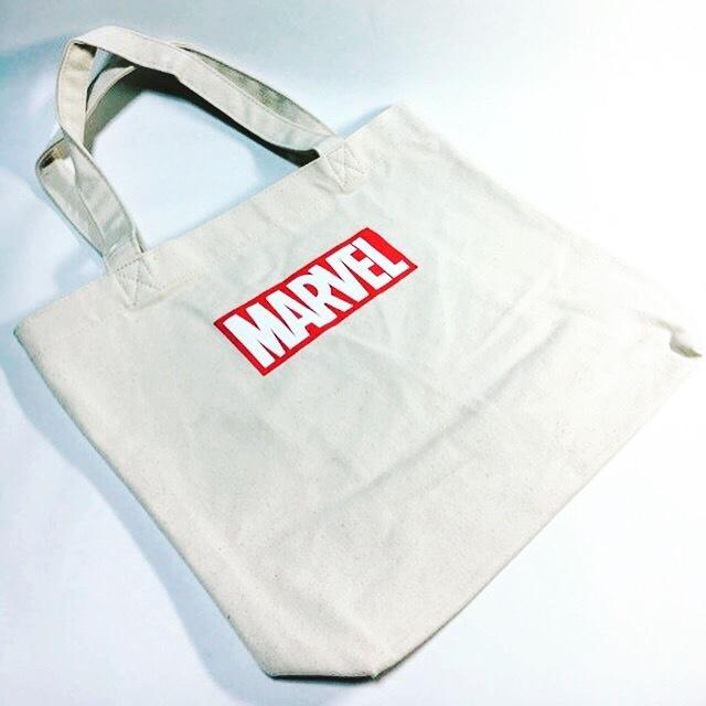 Marvel トートバッグ (白)
